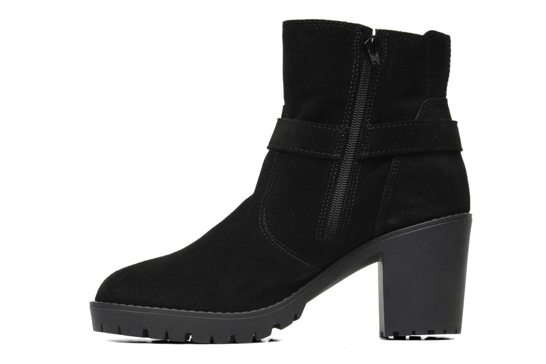 Bottines et boots Esprit Baily Buckle 022 Noir vue face