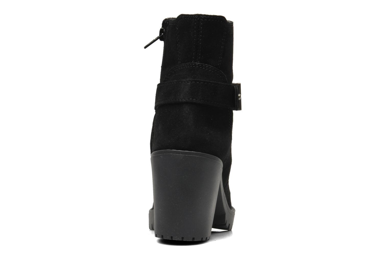 Bottines et boots Esprit Baily Buckle 022 Noir vue droite