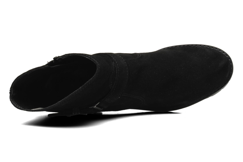 Bottines et boots Esprit Baily Buckle 022 Noir vue gauche