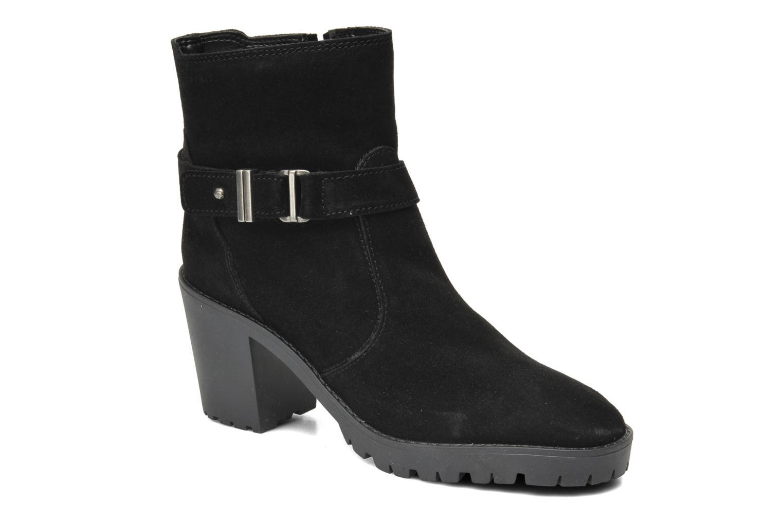 Bottines et boots Esprit Baily Buckle 022 Noir vue détail/paire