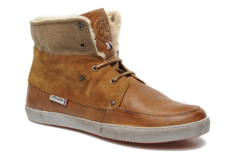 Chaussures à lacets Mascaret Panisse 2 Streetex Fur Marron vue 3/4