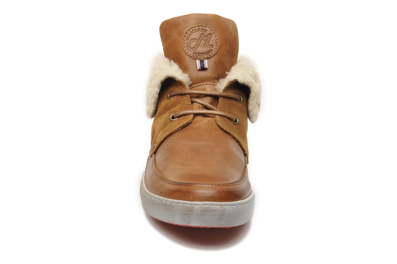 Chaussures à lacets Mascaret Panisse 2 Streetex Fur Marron vue portées chaussures