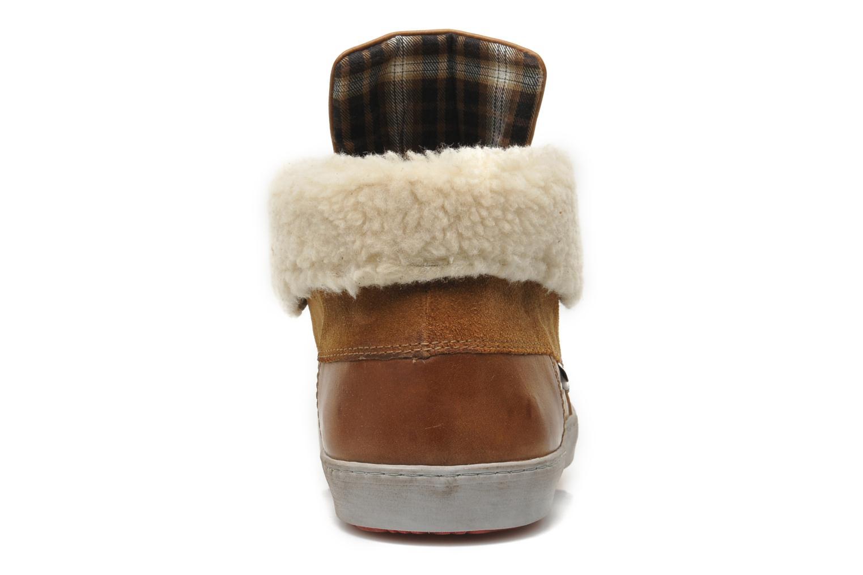 Chaussures à lacets Mascaret Panisse 2 Streetex Fur Marron vue droite
