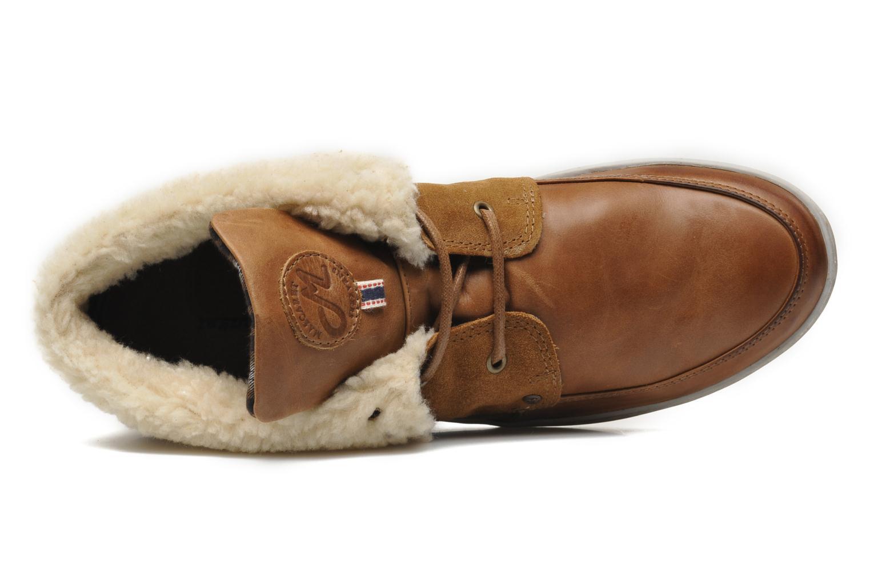 Chaussures à lacets Mascaret Panisse 2 Streetex Fur Marron vue gauche