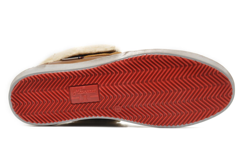 Chaussures à lacets Mascaret Panisse 2 Streetex Fur Marron vue haut