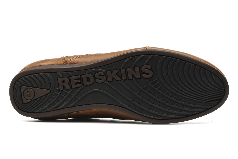 Baskets Redskins Chicosan Marron vue haut