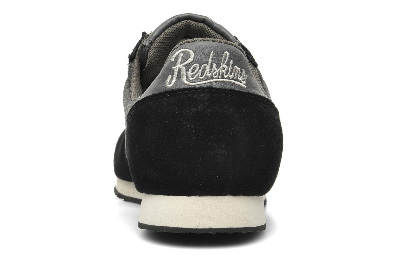 Sneaker Redskins Discor schwarz ansicht von rechts