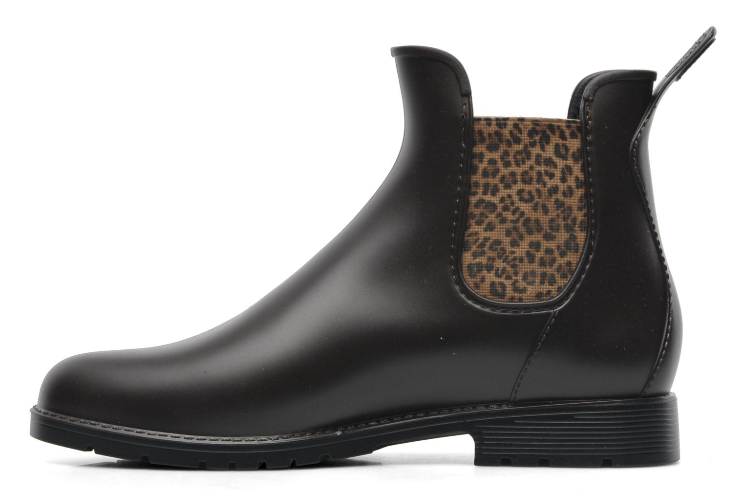 Ankle boots Méduse Jumpard Brown front view