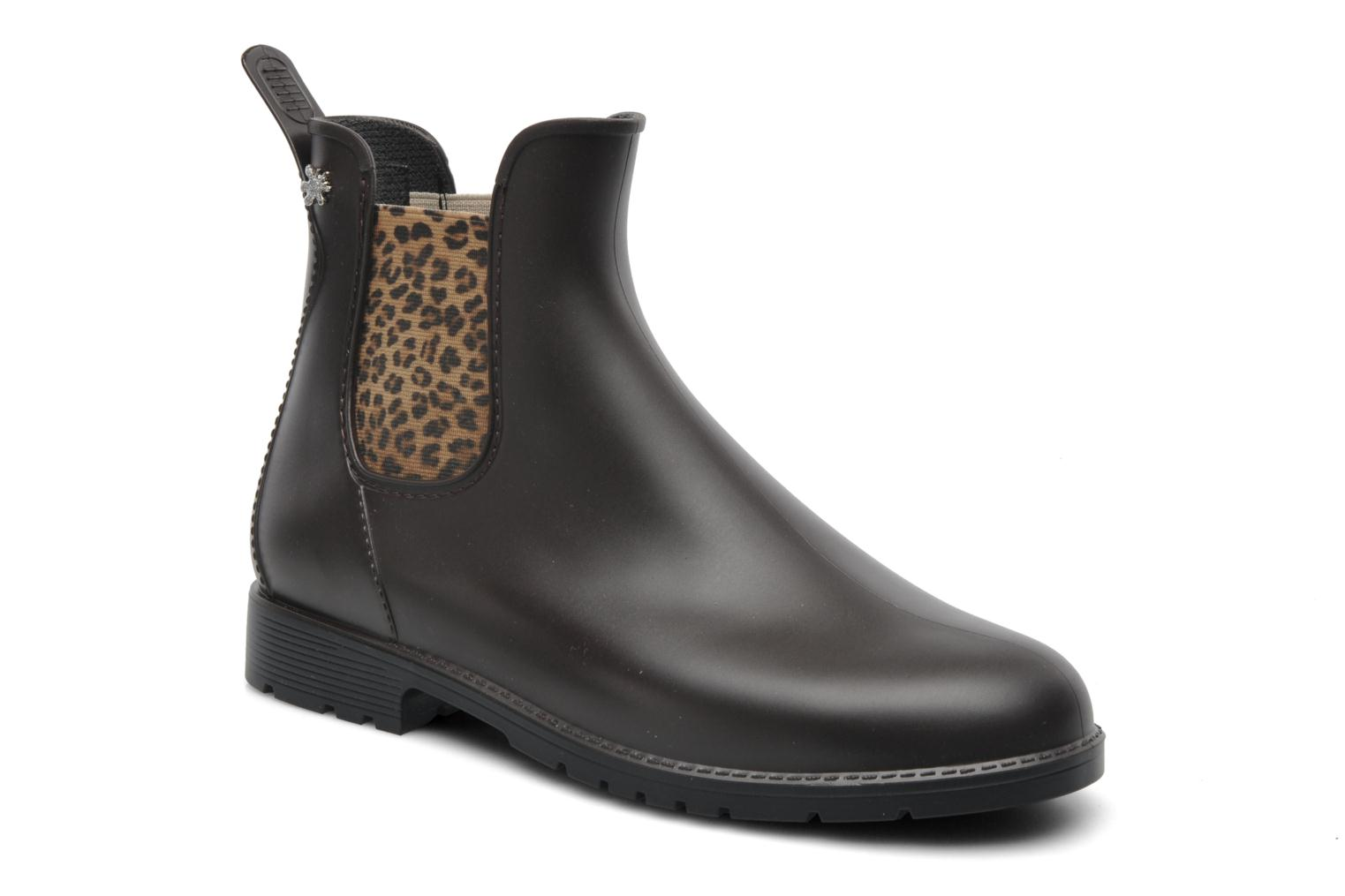Ankle boots Méduse Jumpard Brown detailed view/ Pair view