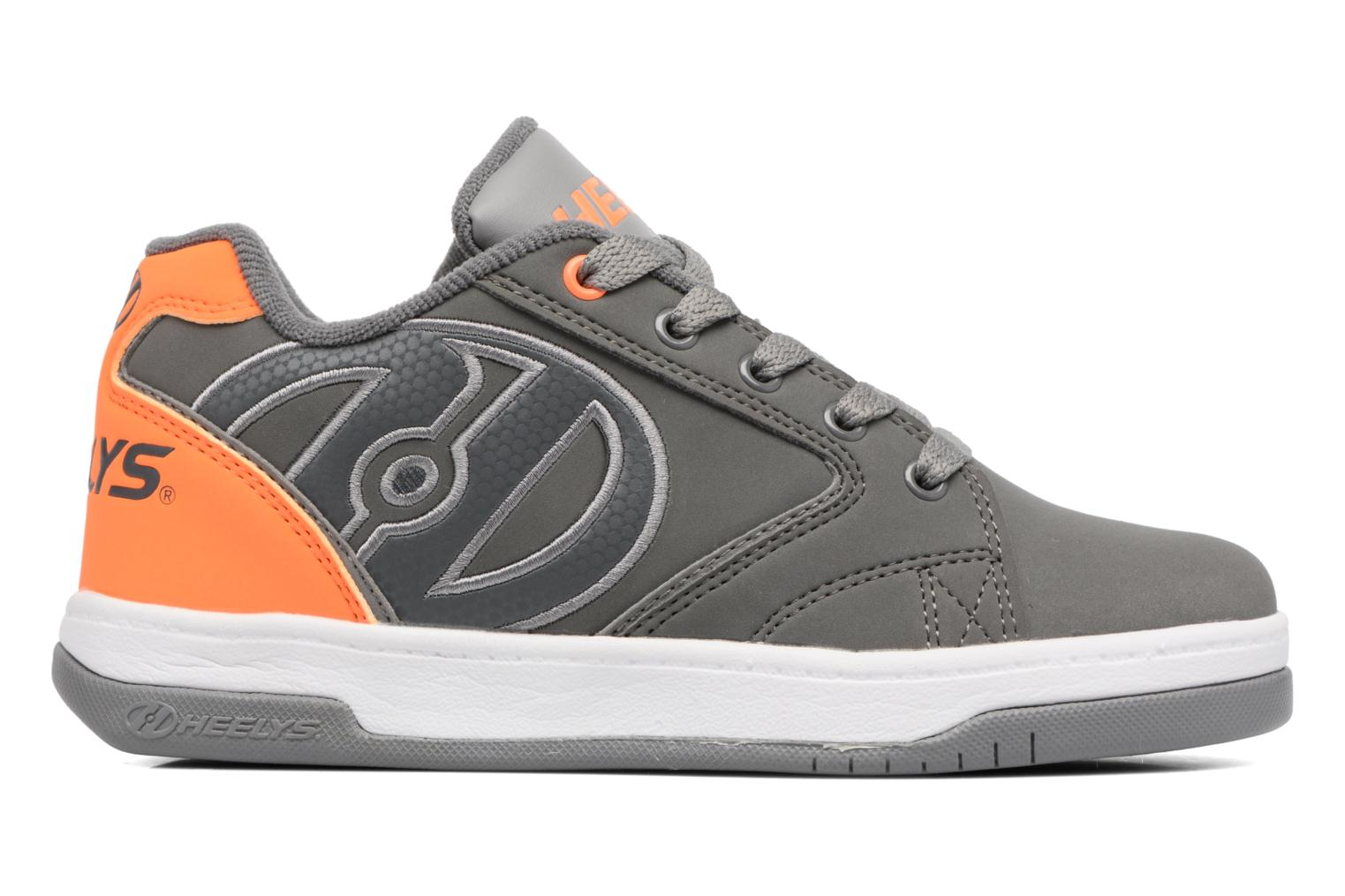 Charcoal/Orange/Grey Heelys Propel 2.0 (Gris)