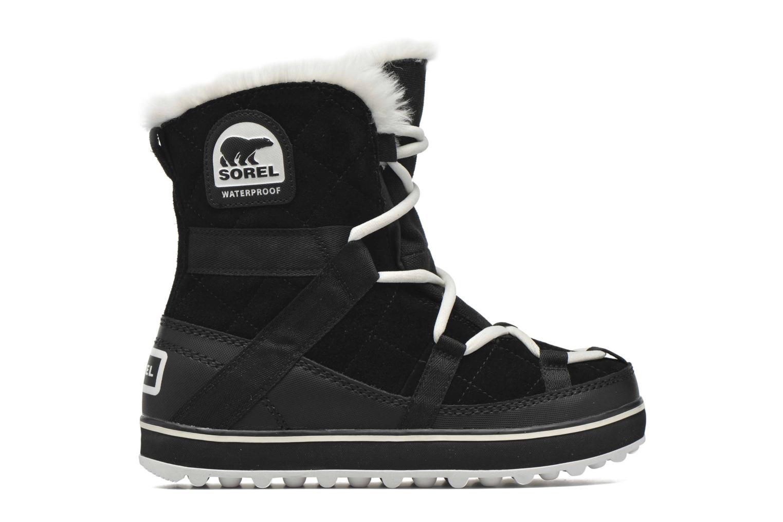 Chaussures de sport Sorel Glacy Explorer Shortie Noir vue derrière
