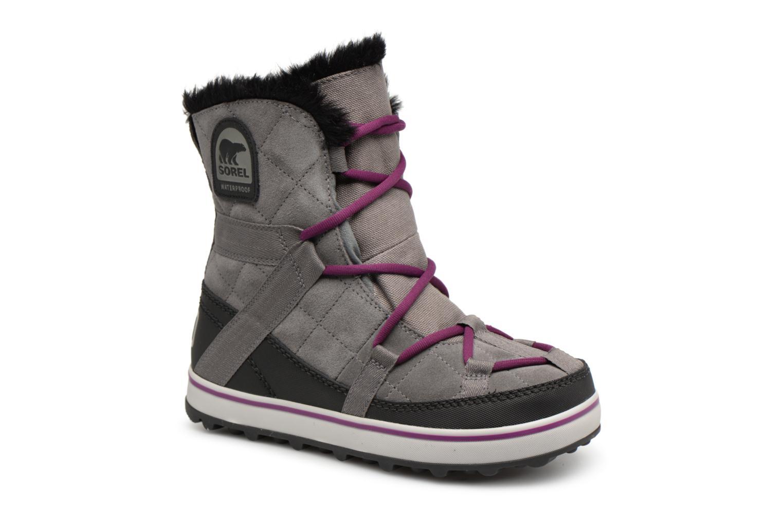 Los últimos zapatos de hombre y mujer Sorel Glacy Explorer Shortie (Gris) - Zapatillas de deporte en Más cómodo
