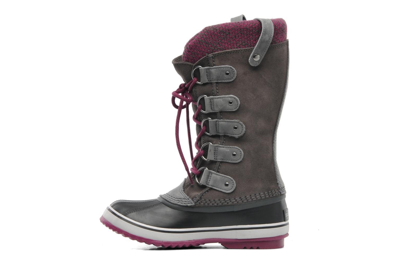 Chaussures de sport Sorel Joan Of Arctic Knit Gris vue face