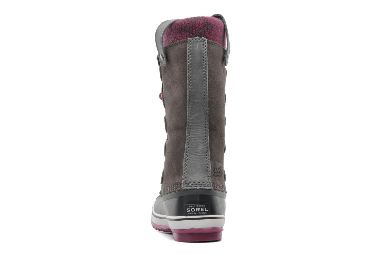 Chaussures de sport Sorel Joan Of Arctic Knit Gris vue droite