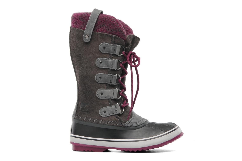 Chaussures de sport Sorel Joan Of Arctic Knit Gris vue derrière