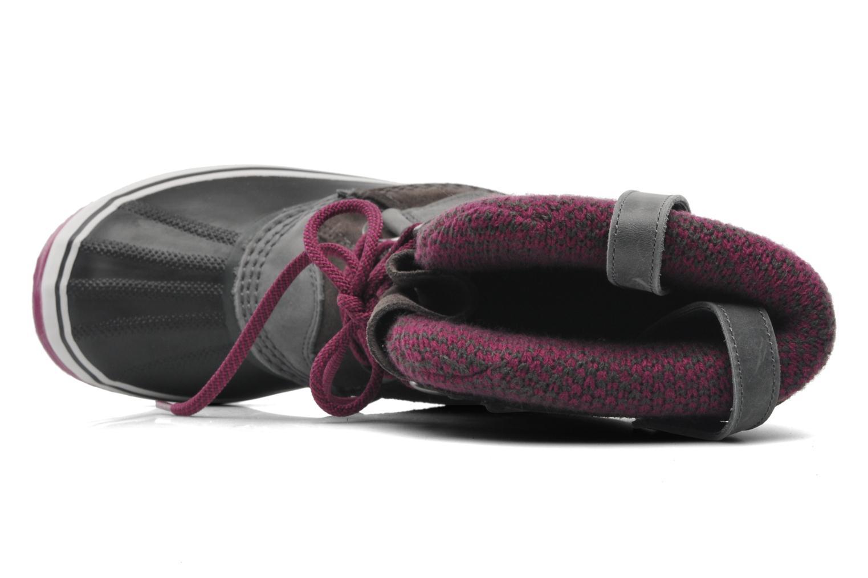 Chaussures de sport Sorel Joan Of Arctic Knit Gris vue gauche