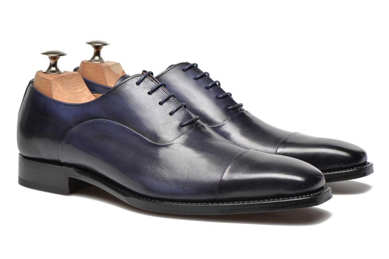 Scarpe con lacci Marvin&Co Luxe Weloofu - Cousu Goodyear Azzurro immagine 3/4