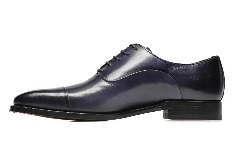 Scarpe con lacci Marvin&Co Luxe Weloofu - Cousu Goodyear Azzurro immagine frontale