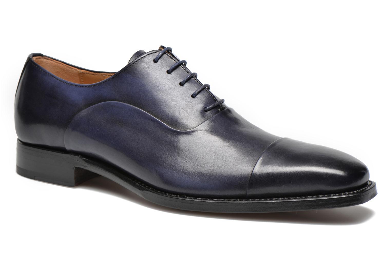 Marvin&Co Luxe Weloofu - Cousu Goodyear (Bleu) - Chaussures à lacets chez Sarenza (226622)