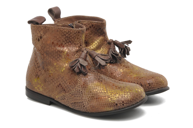Bottines et boots PèPè Gigliola Marron vue 3/4