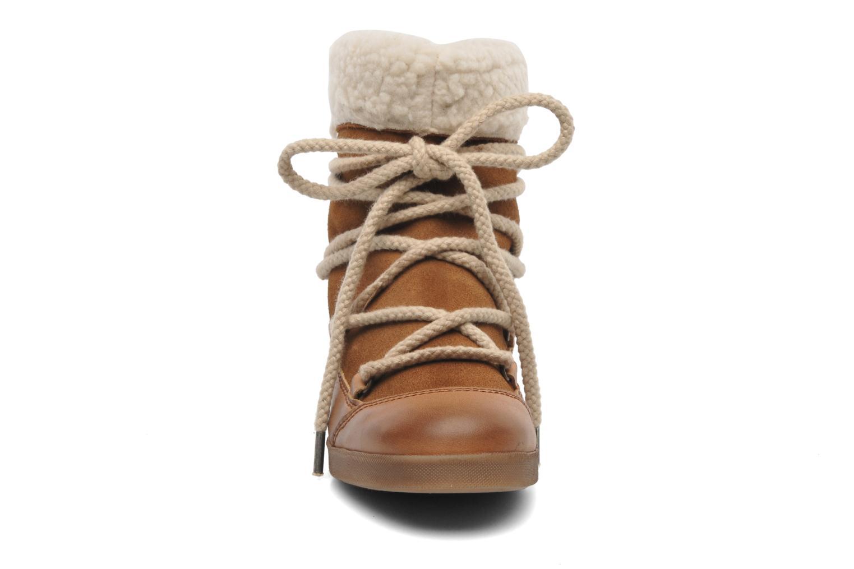 Bottines et boots Addict-Initial Didjeridou Marron vue portées chaussures