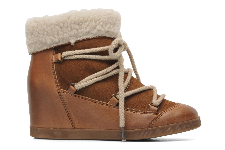 Bottines et boots Addict-Initial Didjeridou Marron vue derrière