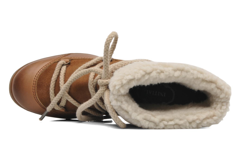 Bottines et boots Addict-Initial Didjeridou Marron vue gauche