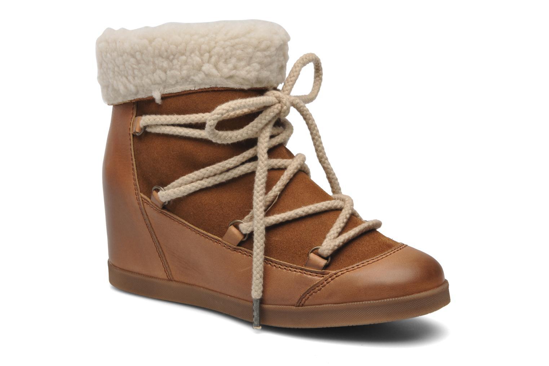 Bottines et boots Addict-Initial Didjeridou Marron vue détail/paire