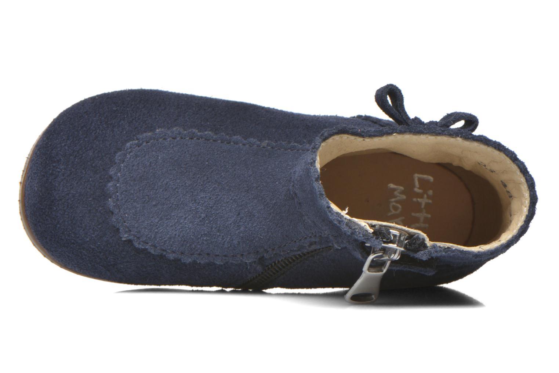 Bottines et boots Little Mary OLISETTE Bleu vue gauche