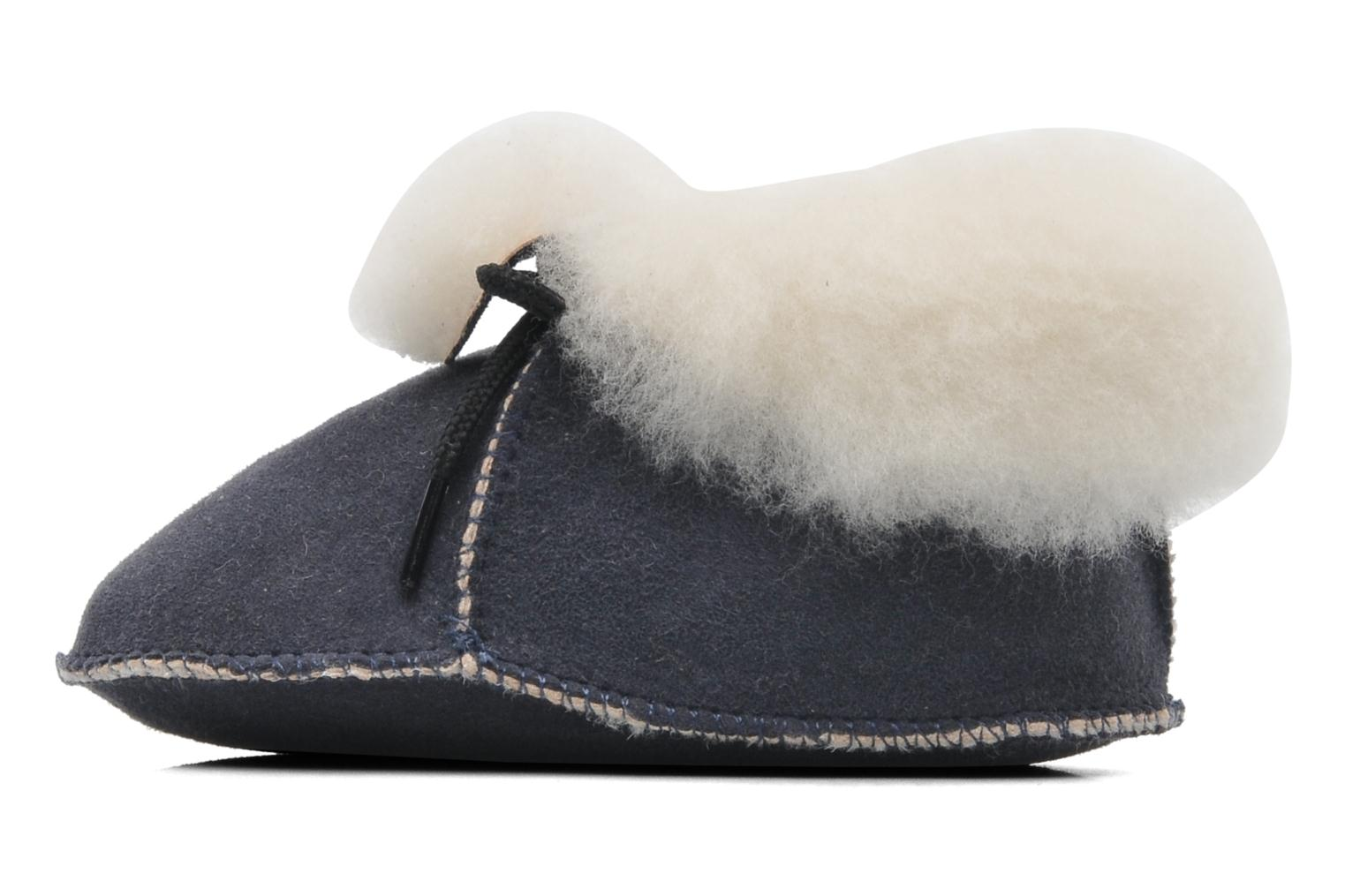 Pantofole Little Mary Bb Polaire Azzurro immagine frontale