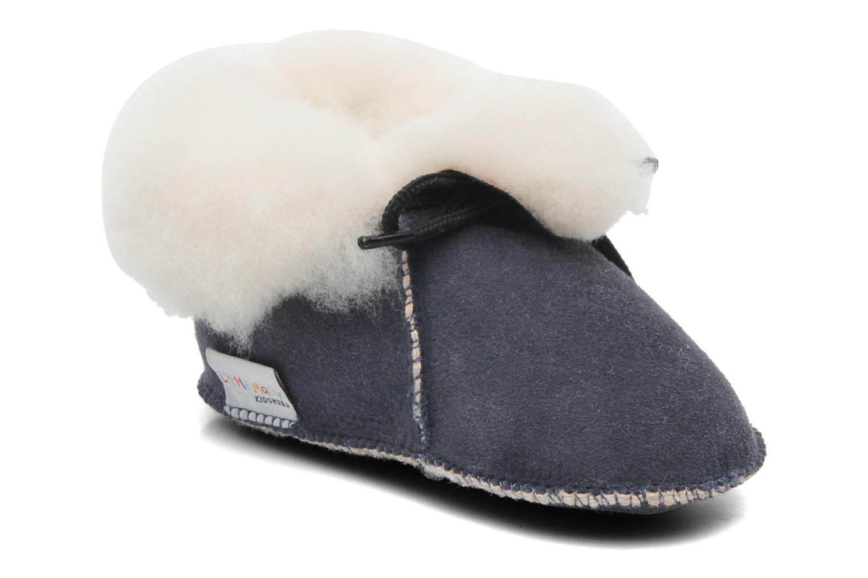 Pantofole Little Mary Bb Polaire Azzurro vedi dettaglio/paio