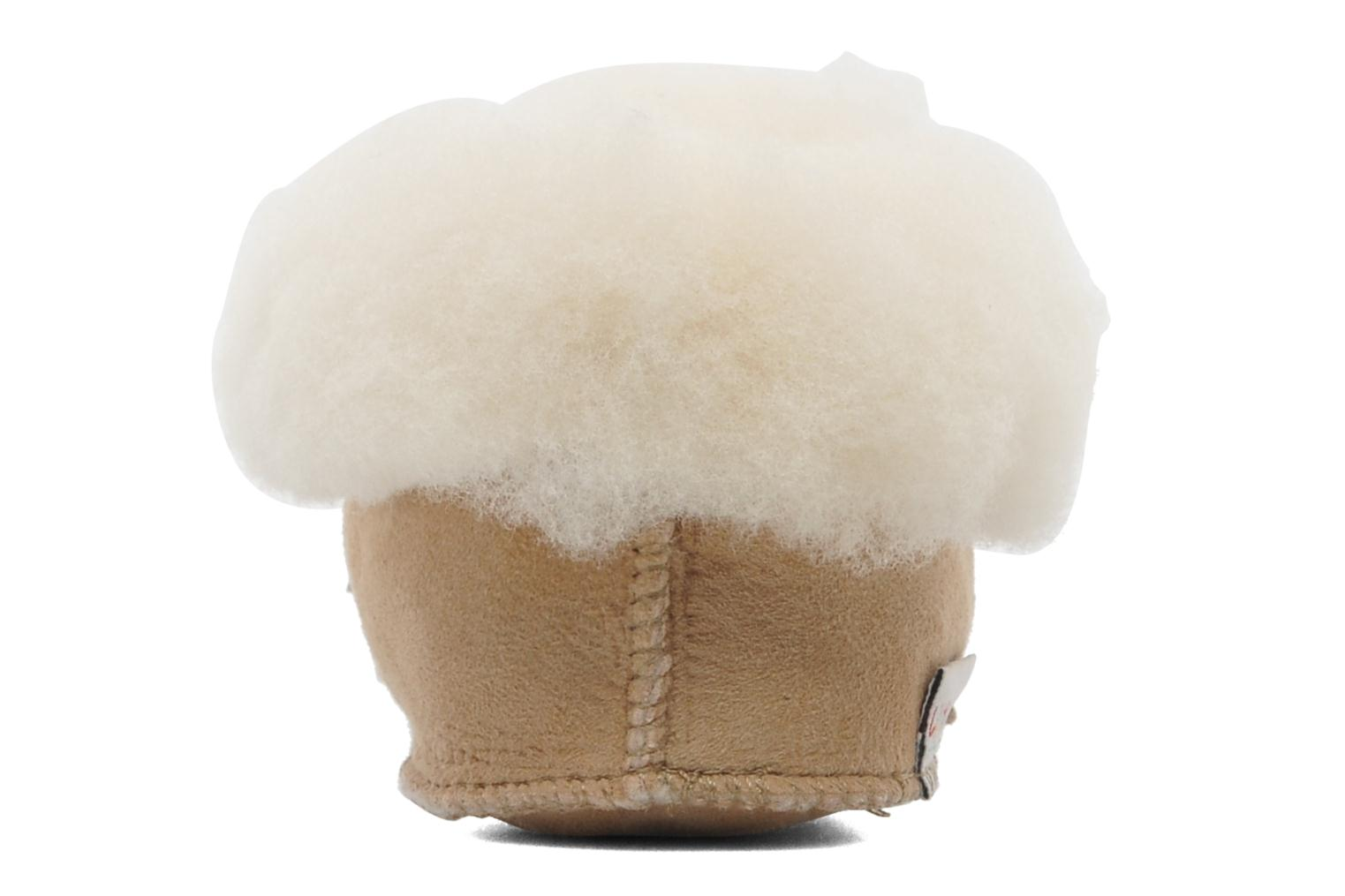 Chaussons Little Mary Bb Polaire Beige vue droite