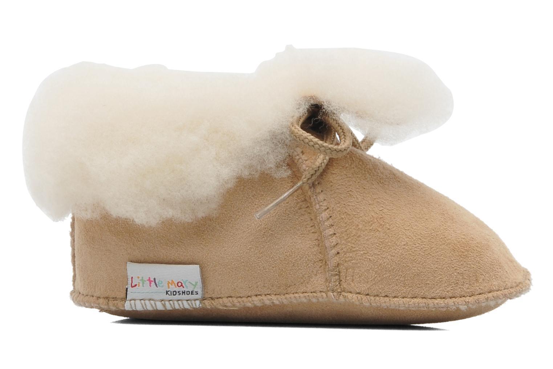 Pantoffels Little Mary Bb Polaire Beige achterkant