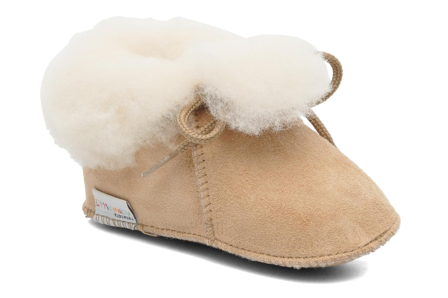 Pantoffels Little Mary Bb Polaire Beige detail