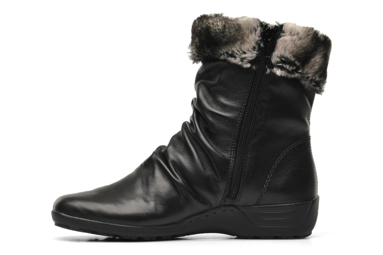 Bottines et boots Remonte Valeria D0593 Noir vue face