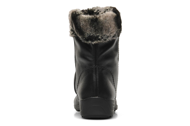Bottines et boots Remonte Valeria D0593 Noir vue droite