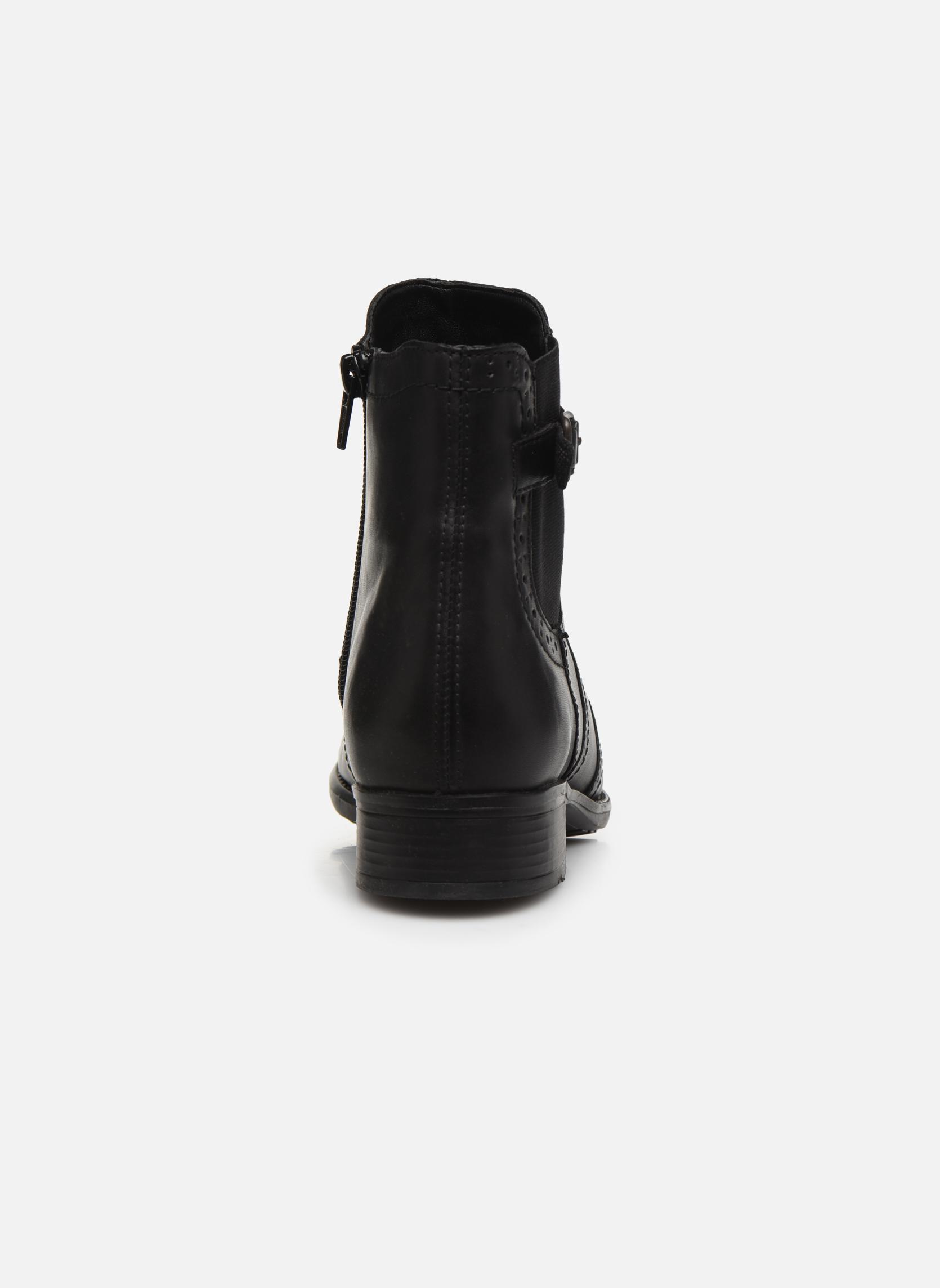 Bottines et boots Remonte Carlla R6470 Noir vue droite