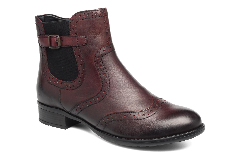 Bottines et boots Remonte Carlla R6470 Bordeaux vue détail/paire