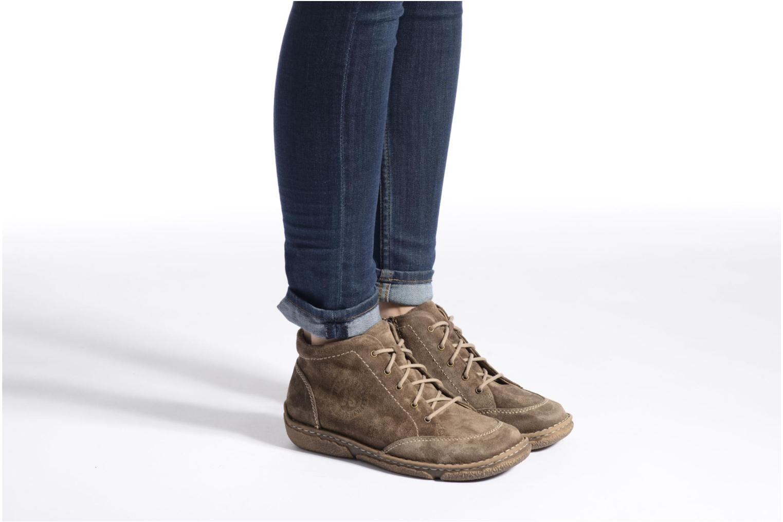 Chaussures à lacets Josef Seibel Neele 01 Beige vue bas / vue portée sac