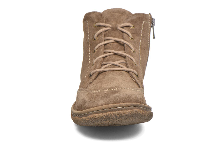 Chaussures à lacets Josef Seibel Neele 01 Beige vue portées chaussures