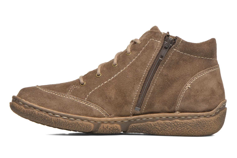 Chaussures à lacets Josef Seibel Neele 01 Beige vue face