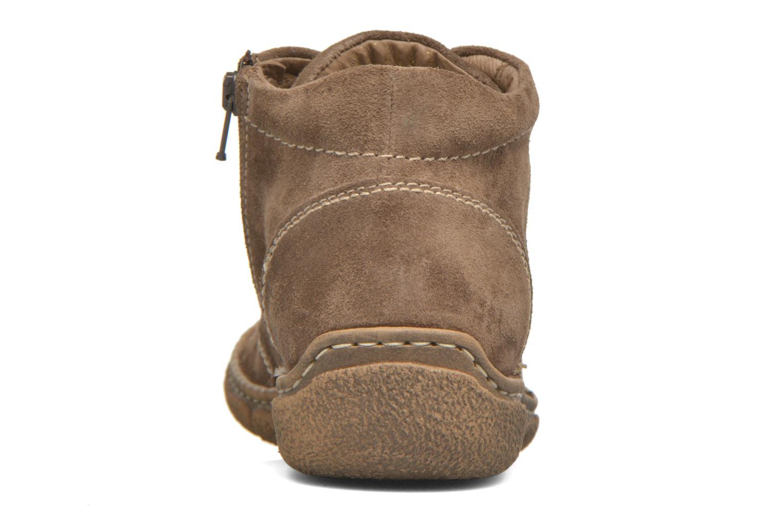 Chaussures à lacets Josef Seibel Neele 01 Beige vue droite