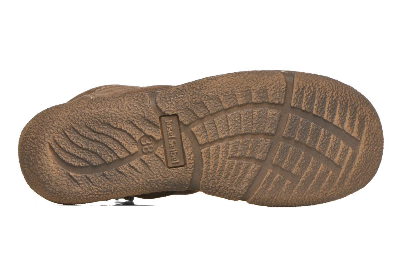 Chaussures à lacets Josef Seibel Neele 01 Beige vue haut