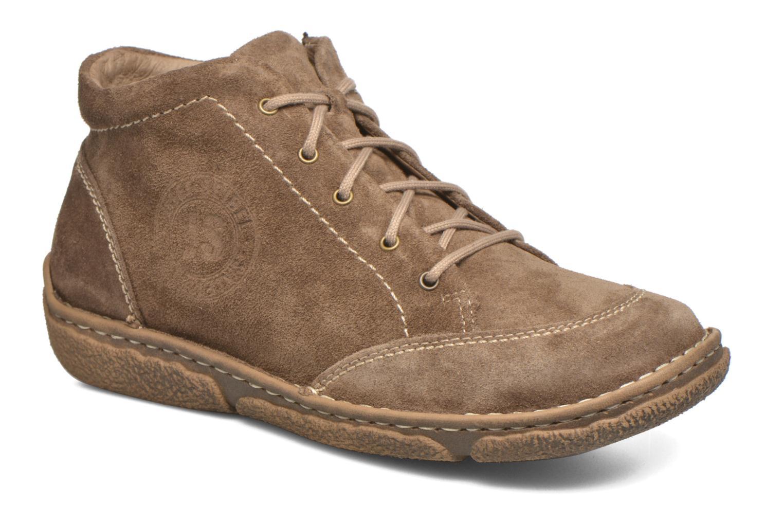 Chaussures à lacets Josef Seibel Neele 01 Beige vue détail/paire