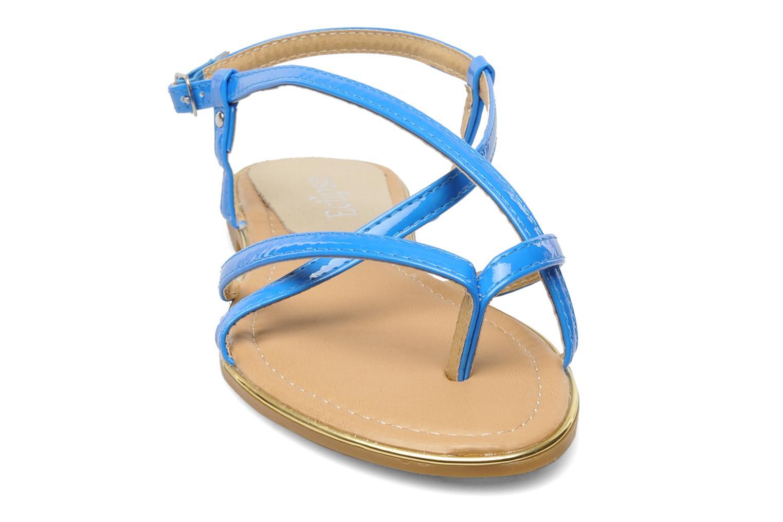 Sandales et nu-pieds Eclipse Sandale Corfou Bleu vue portées chaussures
