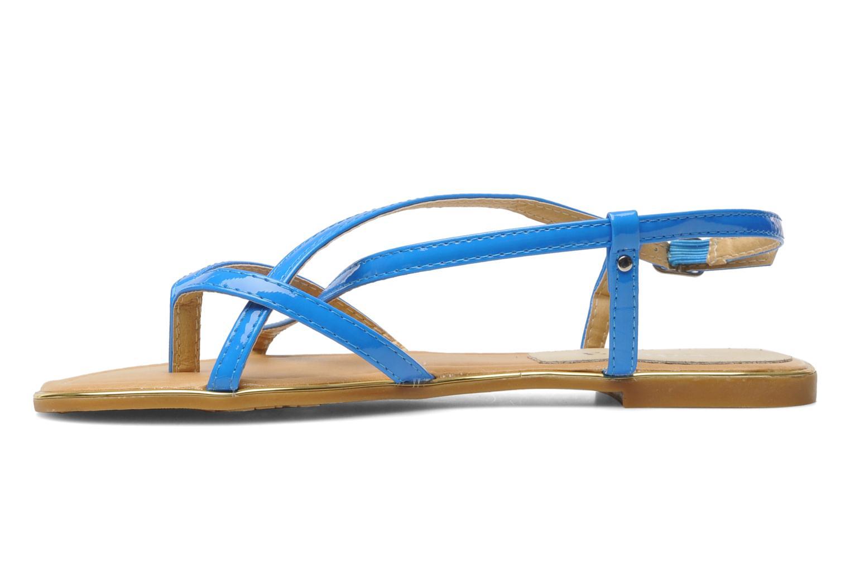 Sandales et nu-pieds Eclipse Sandale Corfou Bleu vue face