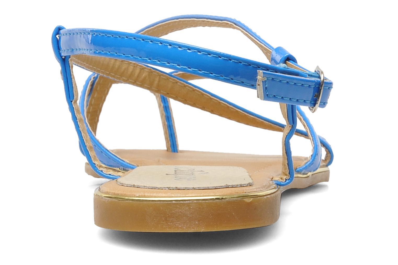 Sandales et nu-pieds Eclipse Sandale Corfou Bleu vue droite