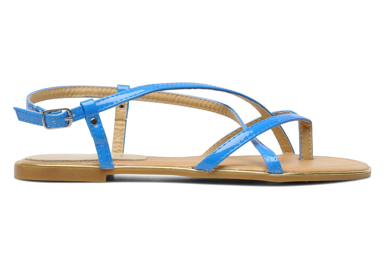Sandales et nu-pieds Eclipse Sandale Corfou Bleu vue derrière
