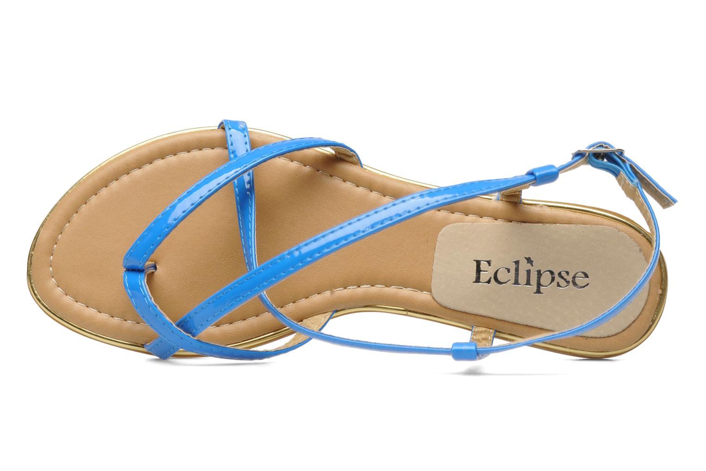 Sandales et nu-pieds Eclipse Sandale Corfou Bleu vue gauche