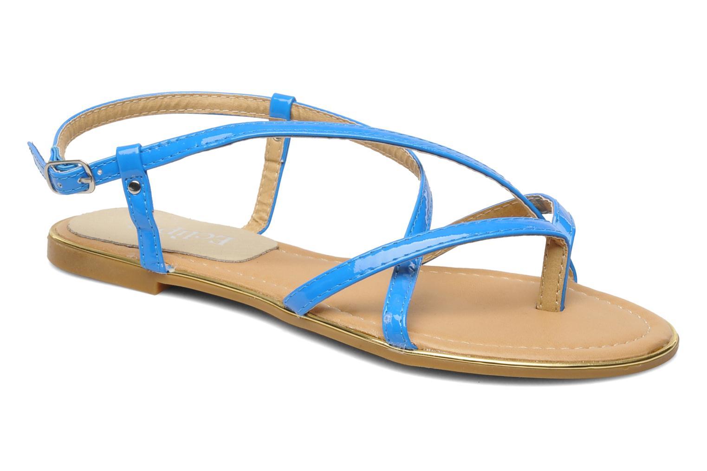 Sandales et nu-pieds Eclipse Sandale Corfou Bleu vue détail/paire